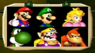 Mario Party 2 - All Characters