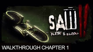 Saw 2 Flesh And Blood Campbell Gameplay Walkthrough Part 1 PS3 HD