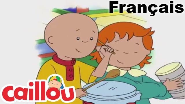 Caillou en fran ais caillou a du rythme conte pour enfant dessin anim complet youtube - Dessin caillou ...