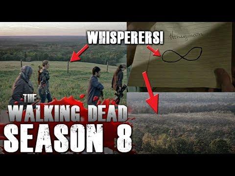 The Walking Dead Season 8 Finale - Things you Missed - Whisperer Easter Eggs!
