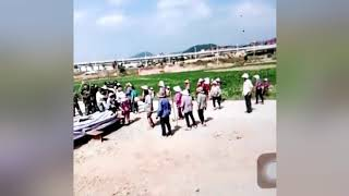 POLICE BEAT FARMERS DEFENDING THEIR RIGHTS Ⅱ