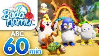 Badanamu ABC Vol.1 - 60mins l Nursery Rhymes & Kids Songs