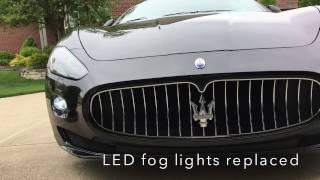 Maserati Granturismo S Fog light LED MOD 4KHDTV