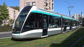 Tramways à Saint-Denis