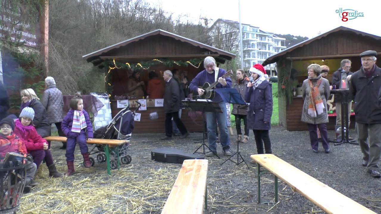 Kunst Weihnachtsmarkt Bad Bodendorf 2013 Youtube