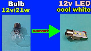 "Car Bulb P21 convert into ""6 SMD LED"""