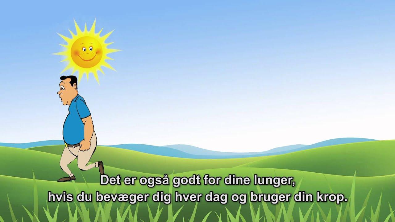 Sådan passer du på dine lunger (med dansk undertekst)