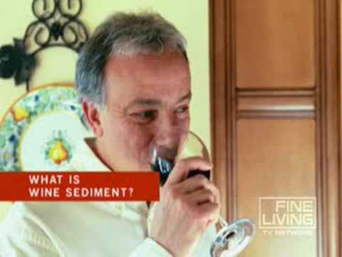 What Is Wine Sediment?
