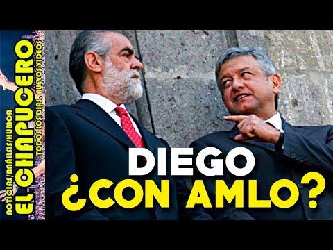 ¿QUE TRAMA? El Jefe Diego, ¡ha empezado a DEFENDER a López Obrador!