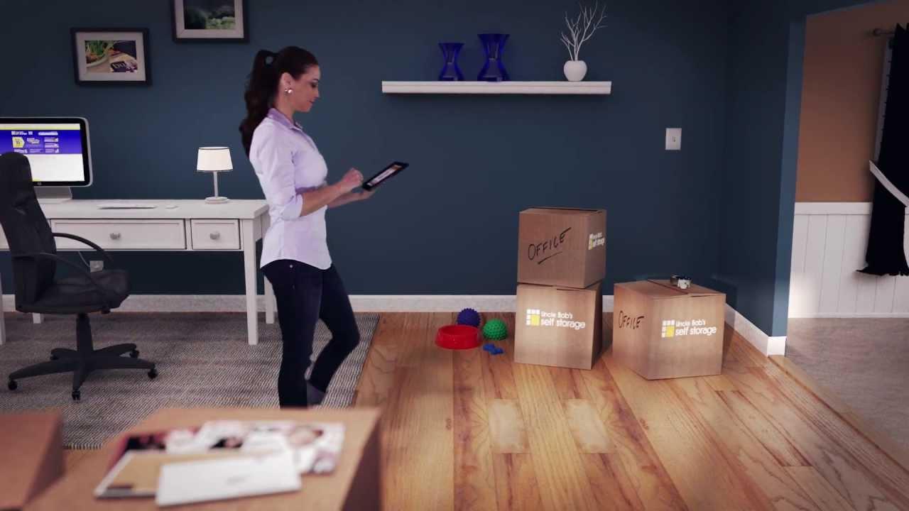 How Large Of A Storage Unit Should You Rent Uncle Bob 39 S Storage Space Estimator Youtube