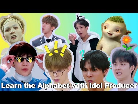 Learn The Alphabet With Idol Producer