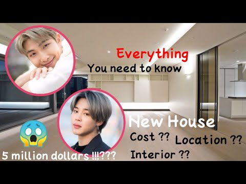BTS RM and Jimin's new house (2021)   Everything you need to know plus exclusive pictures