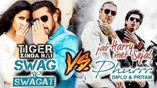 Salman के Swag Se Swagat से हारा Shahrukh का Phurrr Song | Tiger Zinda Hai Vs Jab Haryy Met Sejal