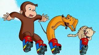 Jorge el Curioso en Español 🐵 Un Mono en Patines 🐵 Mono Jorge 🐵 Caricaturas para Niños