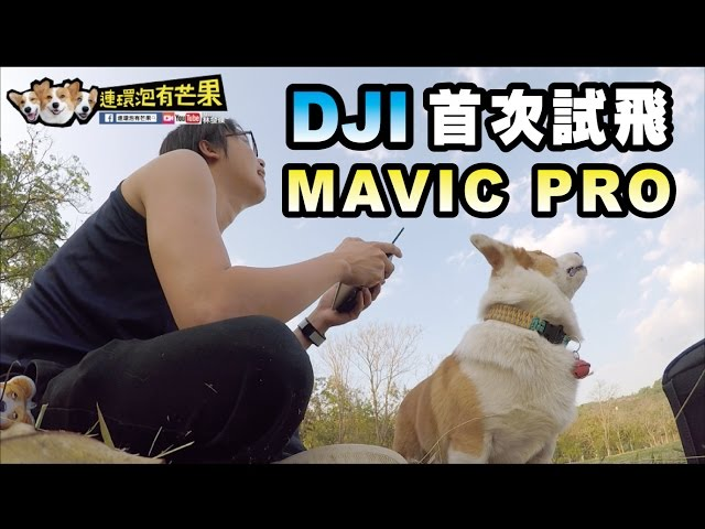 [連環泡]DJI MAVIC PRO第一次試飛