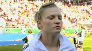 Ariane Hingst, German National Football Team | Womens soccer Worldcup