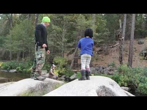 Trout fishing Yosemite