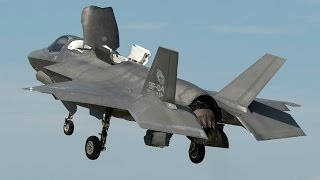 WORLDS MOST EXPENSIVE US Military F-35 starts Aircraft Carrier Trials