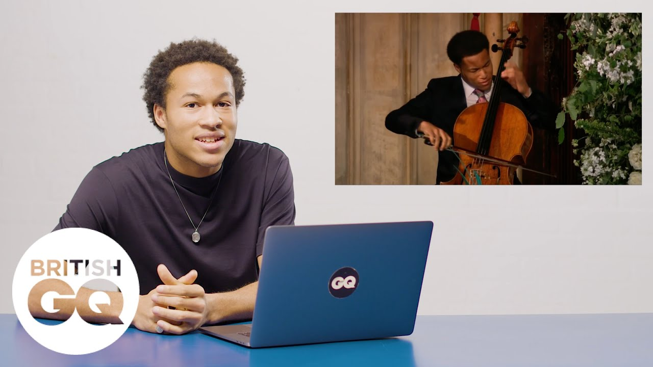 Sheku Kanneh-Mason Breaks Down His Royal Wedding Performance | Action Replay | British GQ