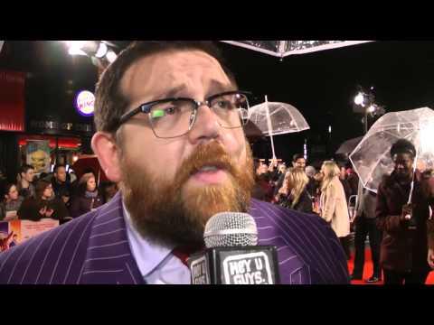 Nick Frost Interview - Cuban Fury World Premiere