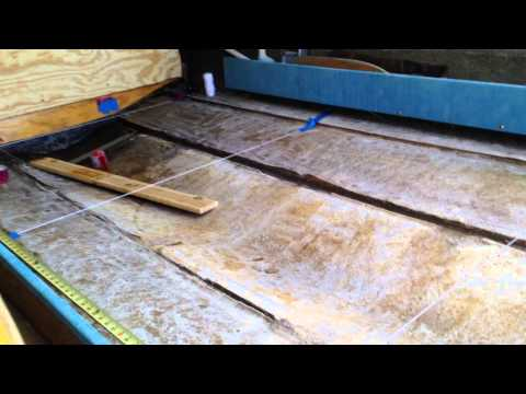 How to measure and cut stringers for a boat hull