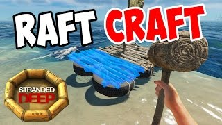 Stranded Deep - Raft and Sail Crafting - S3E03 - Let