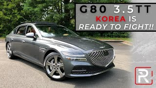 The 2021 Genesis G80 3.5T is a Stand-Out New Luxury Sedan From Korea