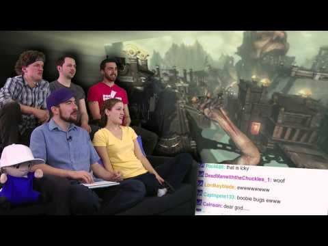 God of War Ascension Gameplay! - Show and Trailer February 2013 - Part 3