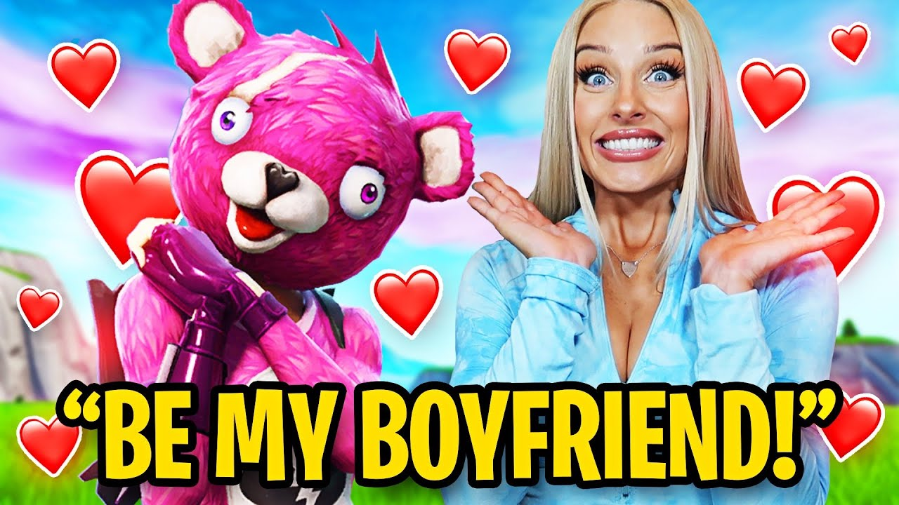 Asking My Duo to be my NEW BOYFRIEND in Fortnite *SURPRISE*