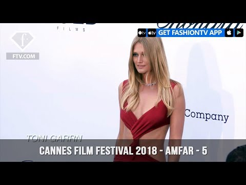 Toni Garrn at the amfAR Gala at Cannes Film Festival 2018 | FashionTV | FTV