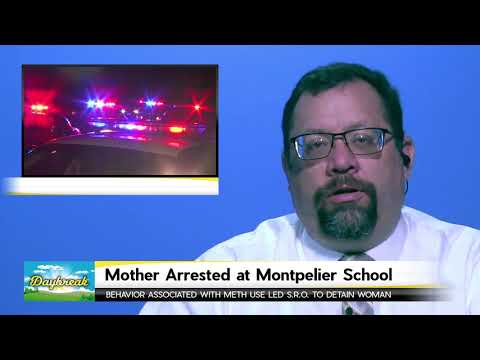 Mother Arrested at Montpelier School