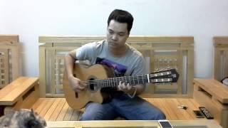 Scarborough Fair -Test đàn Ân Guitar/ Clb Guitar Việt Nhạc