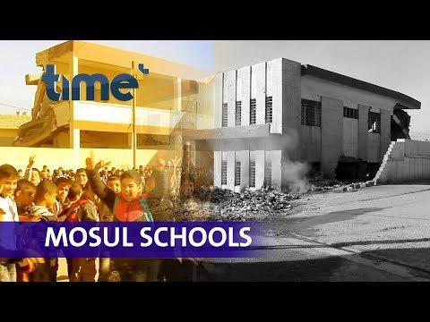 Mosul schools open its door to the future