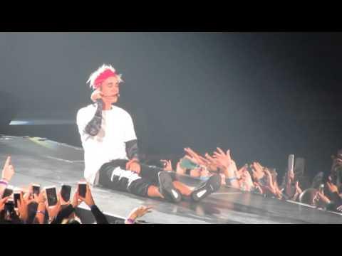 "Justin Bieber ""Purpose"" - Chicago 4/22"