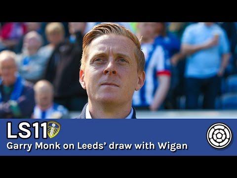 LS11 | Garry Monk on Leeds' 1-1 draw with Wigan