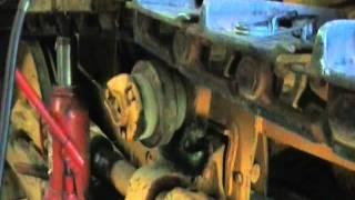 John deere 350 upper track roller replacement  pt 1