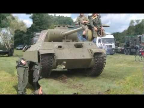 German Tank Panzer V Panther Replica Youtube