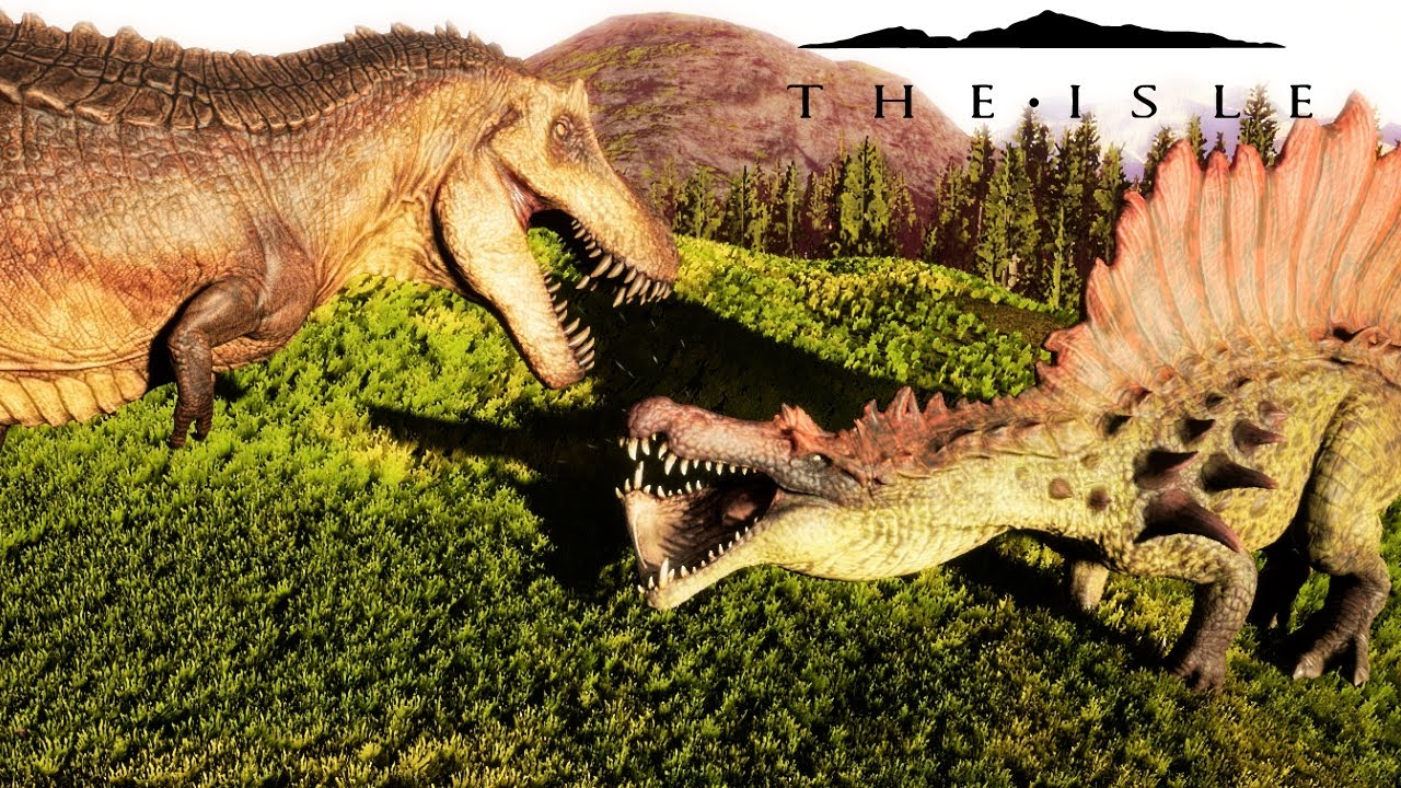 The Isle - HYPO SPINO VS HYPO REX, HYPO SPINO WAS LEAKED IN A MOD! PLAYING  AS HYPO SPINO - Gameplay