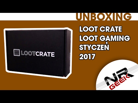 Loot Crate - Loot Gaming - Styczeń 2017 - Mad Science - Unboxing