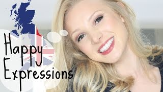 Top 5 Happy Expressions & Idioms | British English Vocabulary