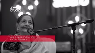 BTS, Farida Khanum, Aaj Jane Ki Zid Na Karo, Coke Studio Season 8, Episode 7