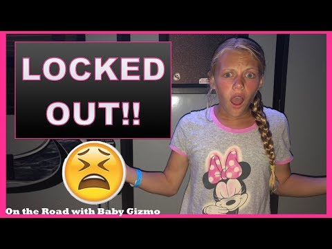 LOCKED OUT OF OUR RV  On the Road with Baby Gizmo EPISODE 6