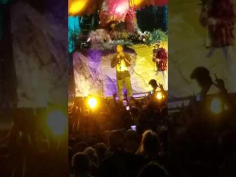 Travis Scott goosebumps LIVE world record 15
