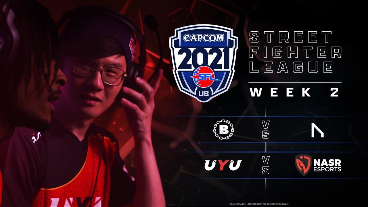 Download Street Fighter League Pro-US 2021 Week 2 - Bandits vs. NVD - UYU vs. NASR