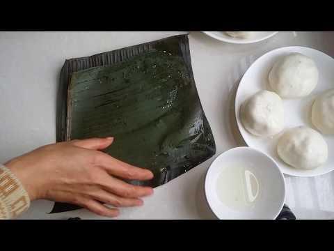 cách làm bánh bột nếp hấp