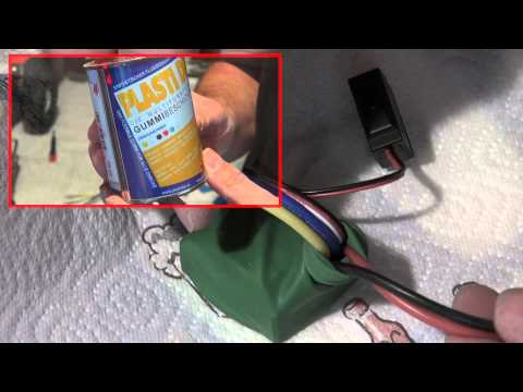 Waterproofing of RC Car Electronics on a simple way