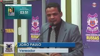 João Paulo   Pronunciamento Russas 21 01 2020