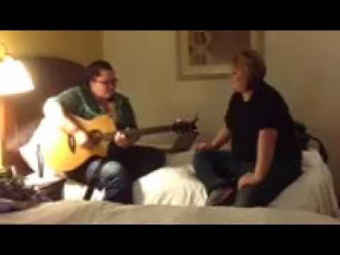 Rehearsal: free falling cover by Allison and Jessica Kelsey