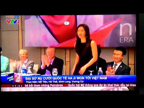 Ha Ji Won in Vietnam (VTV channel)