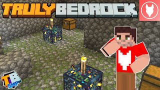 Truly Bedrock SMP : S2 - E5 - Double Zombie Spawner and Zombie/Drowned Farm!
